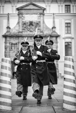 Cambio de Guardia en el Castillo de Praga