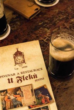 Cerveza en U Fleku
