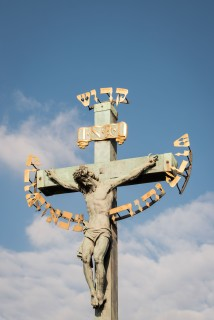 Cristo de la Crucificcion en Puente de Carlos