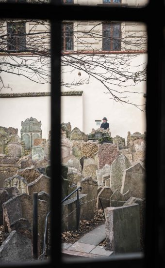 Desde el Cementerio de Praga