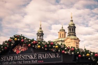 Desde la Plaza Vieja de Praga
