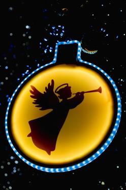 Luces del Gran abeto de Navidad