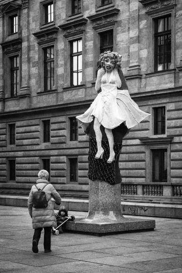 Marilyn en Namesti Vaclava Havla