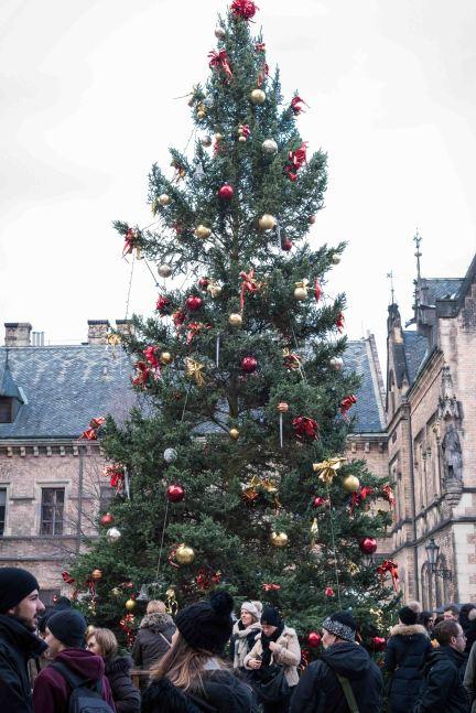 Navidad en la Plaza de la Basilica de San Jorge