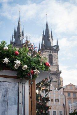 Navidad en Plaza Vieja de Praga