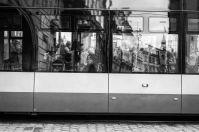 Pasajeros del Tranvia de Praga