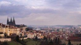 Vista desde el Castillo de Praga